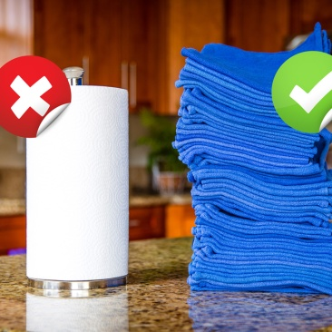 zero-waste-replace-paper-with-cloth-towels